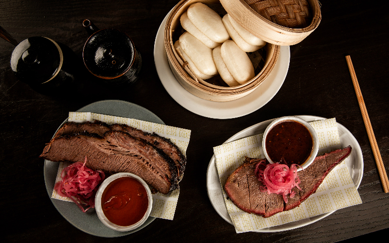 Beef Brisket and Bao Buns