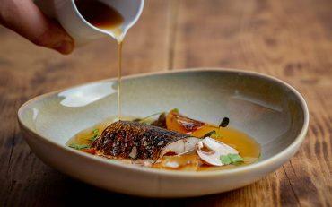 Fish dish at Roe