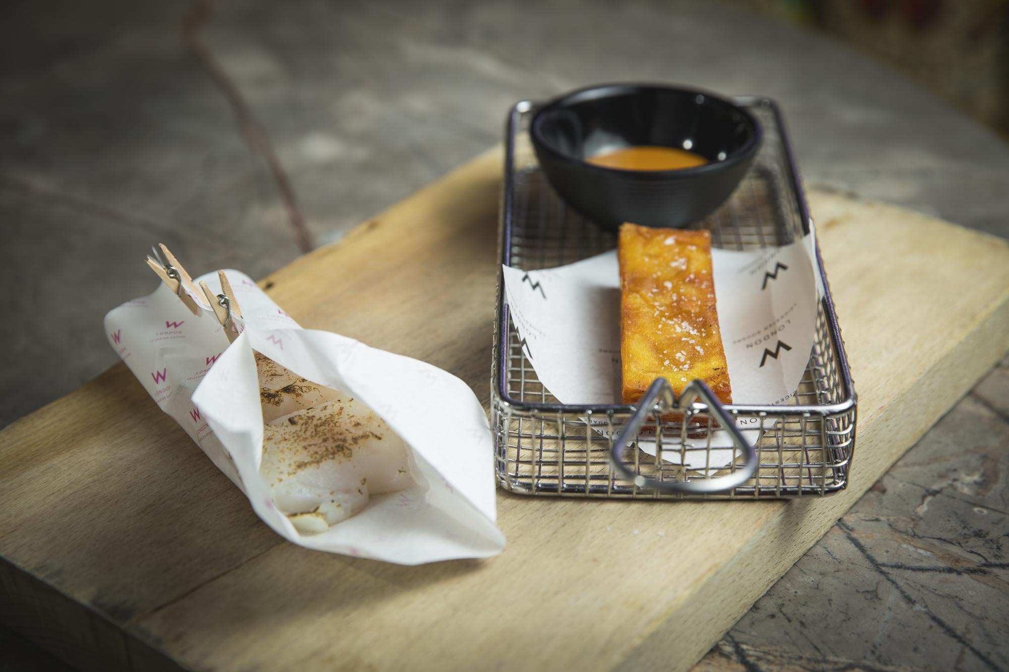 W London - Ben Murphy - Hake, Artichoke, Vanilla