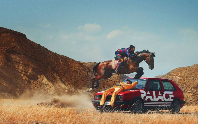 Palace x Ralph Lauren look book
