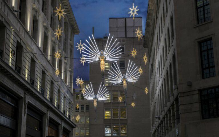St James's Christmas lights