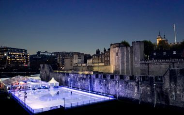 THE TOWER OF LONDON ICE RINK IS BACK THIS WINTER