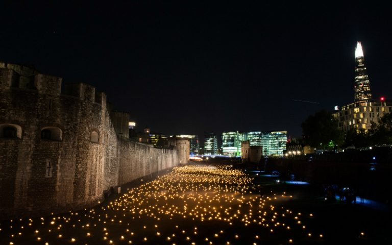 Tower of London installation
