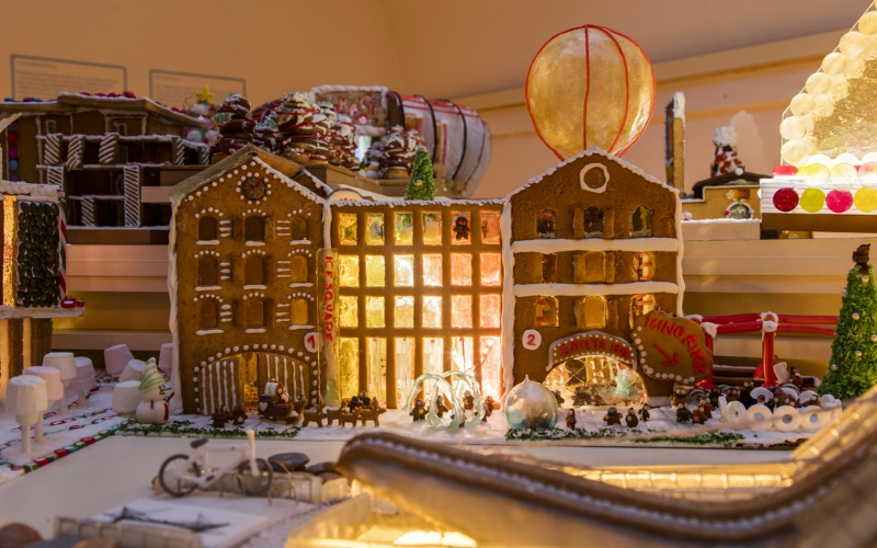 Gingerbread city