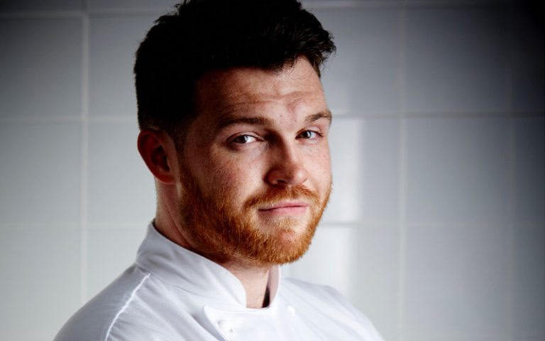 Head shot of Chef Tom Brown