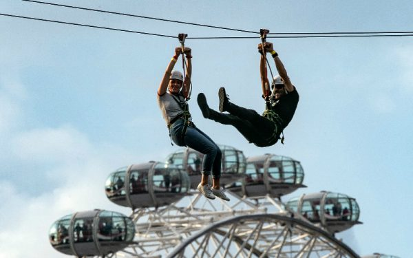 ride the world's biggest city zip wire at southbank