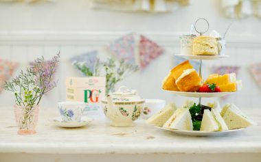 FREE AFTERNOON TEA FROM PG TIPS