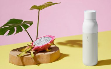 THE WORLD'S FIRST SELF-CLEANING WATER BOTTLE IS HERE
