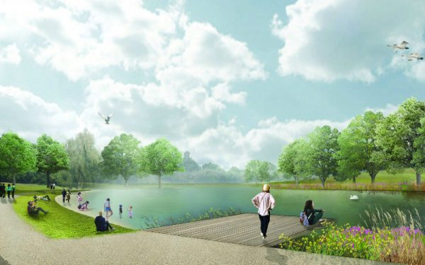 SWIMMING LAKE TO OPEN AT BECKENHAM PLACE PARK