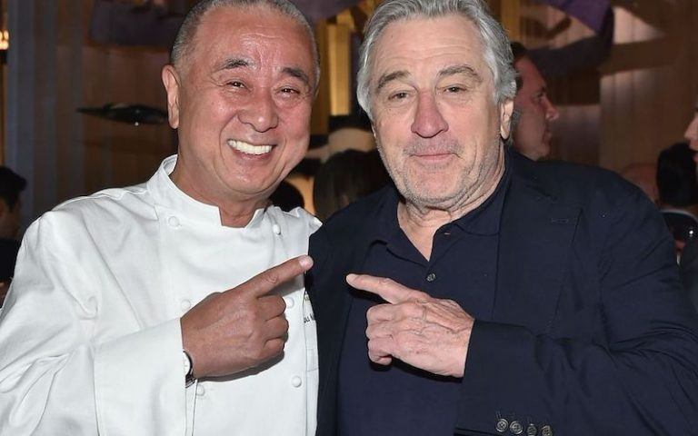 celebrity restaurants in london De Niro Nobu