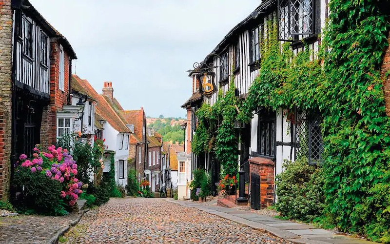 Old Town Rye in Sussex