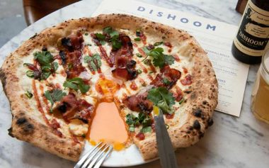 DISHOOM X PIZZA PILGRIMS