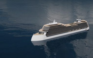 THE WORLD'S GREENEST CRUISE SHIP IS COMING