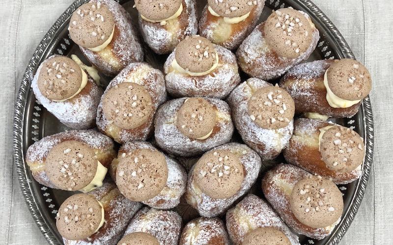 Bread Ahead Panettone Doughnuts