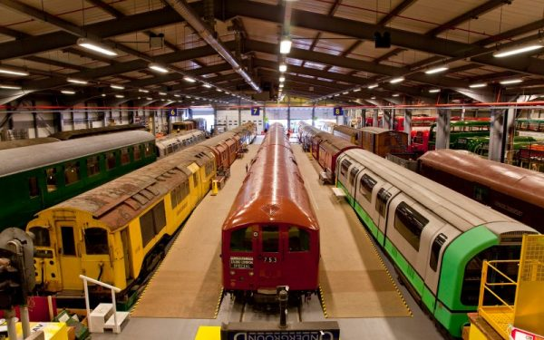 THE LONDON TRANSPORT MUSEUM DEPOT IS OPENING FOR THE SUMMER