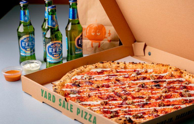 Yard Sale Pizza Mangal
