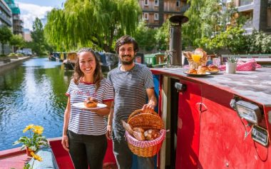A FLOATING BAKERY HAS COME TO LONDON