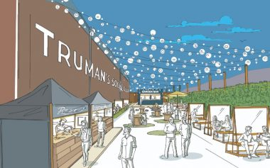 A HUGE BEER GARDEN IS COMING TO WALTHAMSTOW