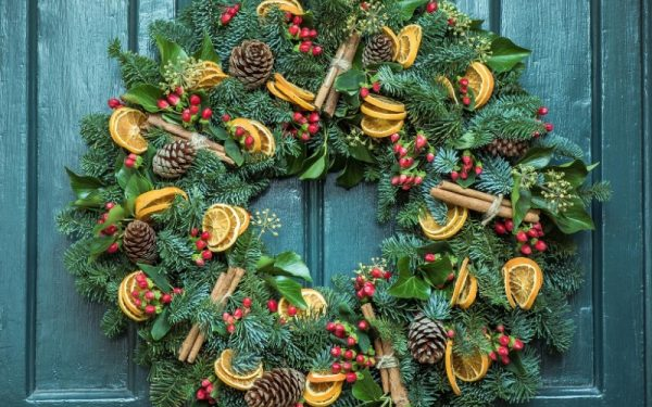 CHRISTMAS WREATH WORKSHOPS WITH SHILPA REDDY